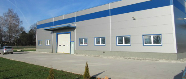 A building of the company AG FOIL EUROPE